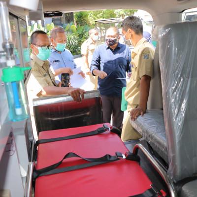 6 September 2021 Serah Terima Bantuan Ambulance