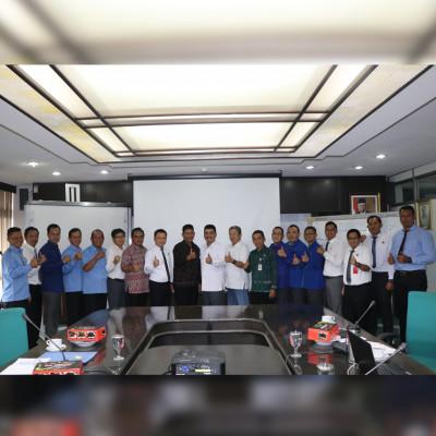 Kunjungan PDAM Tirta Mahottama Kabupaten Klungkung beserta kejaksaan negeri, PEMKAB Klungkung