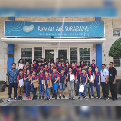 Kunjungan SD Nation Academy ke Rumah Air Surabaya