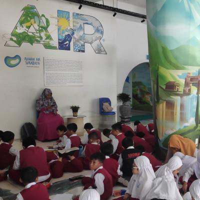 Kunjungan SD Muhammadiyah 3 ikrom ke Rumah Air
